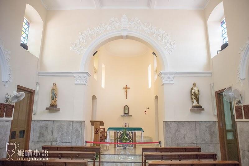 【澳門路環景點】路環聖方濟各聖堂。港韓影劇取景熱門拍攝地