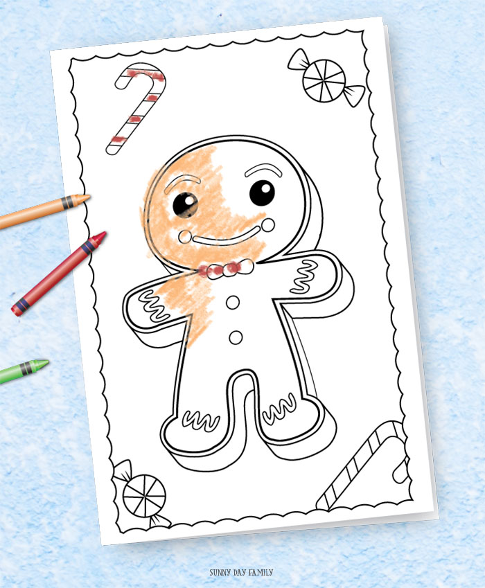 3 Free Printable Christmas Cards for Kids to Color | Sunny ...
