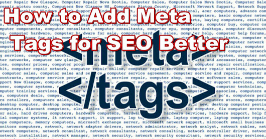 How to Add Meta Tags for SEO to Blogger
