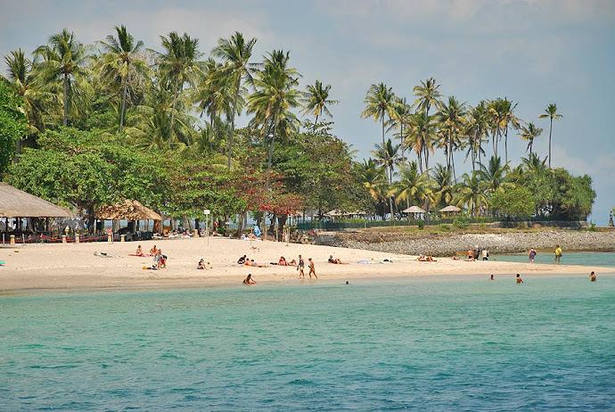 Playa en la isla de Lombok
