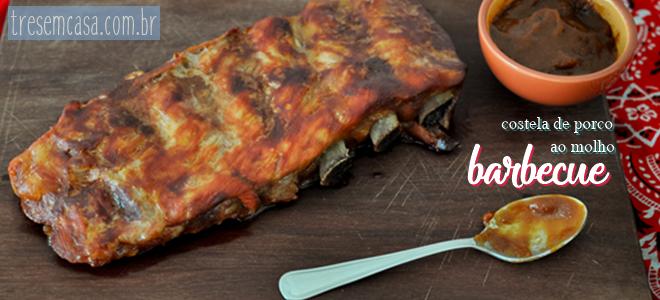 receita de costela ao molho barbecue
