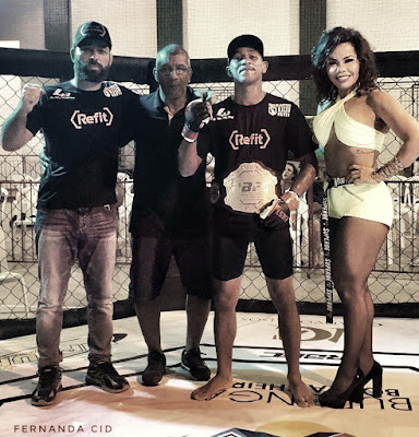 Michelly Boechat prestigia evento Rio Bonito Fight Championship