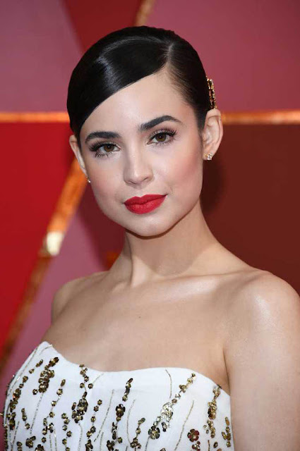 Sofia Carson at 89th Annual Academy Awards 2