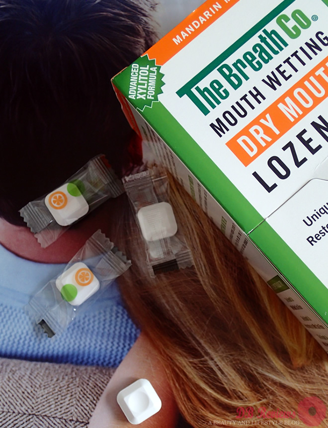 The Breath Co. Mouth Wetting Lozenges