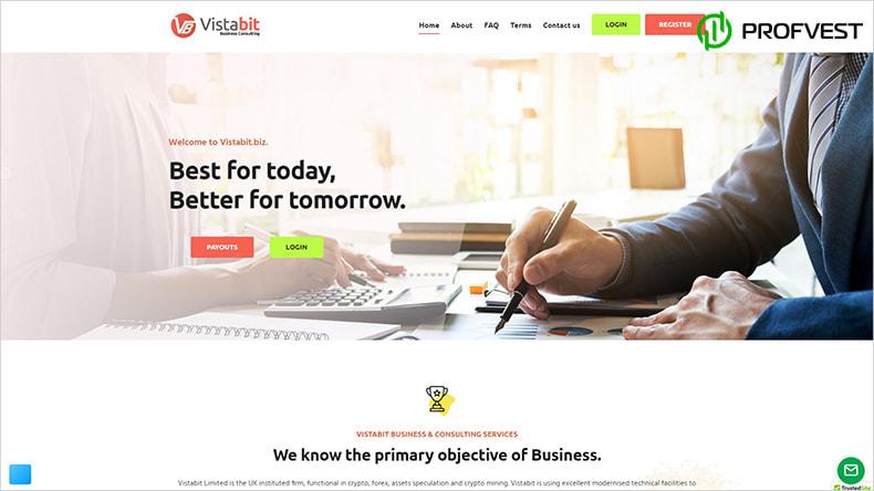 Vistabit обзор и отзывы HYIP-проекта
