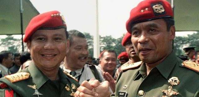 Kata Muchdi PR, Persahabatannya Dengan Prabowo Bagai DN Aidit Dan Natsir