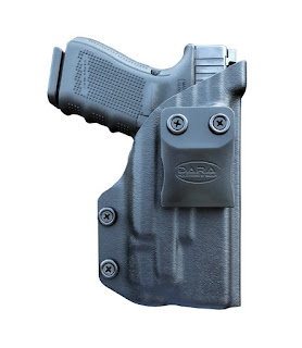 Glock 19 with Streamlight TLR-7, tlr-7 holster, tlr7 holster, iwb holster