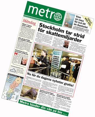 Como Muitos Pensam O Nome METRO Não Foi Escolhido Em Virtude Do Canal De  Distribuição Do Novo Jornal: A Rede De Transporte Público (especialmente O  Metrô).