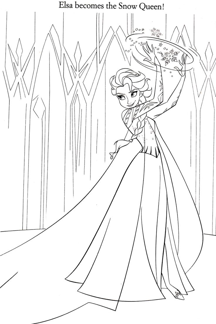 Best 15 Elsa From Frozen Coloring Pages Pictures