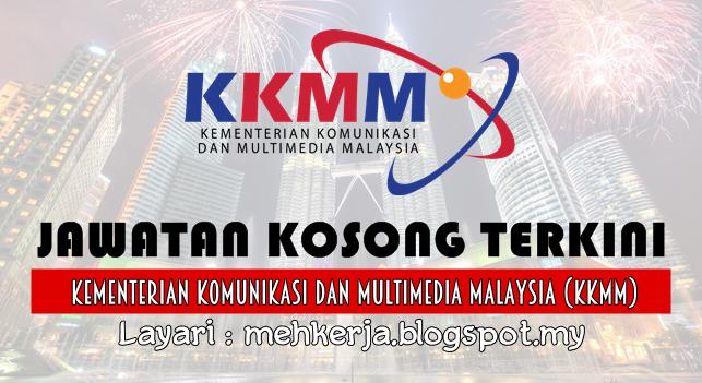 Jawatan Kosong Terkini 2016 di Kementerian Komunikasi dan Multimedia Malaysia (KKMM)