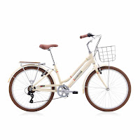 City Bike Polygon Sierra AX Cream 24 Inci