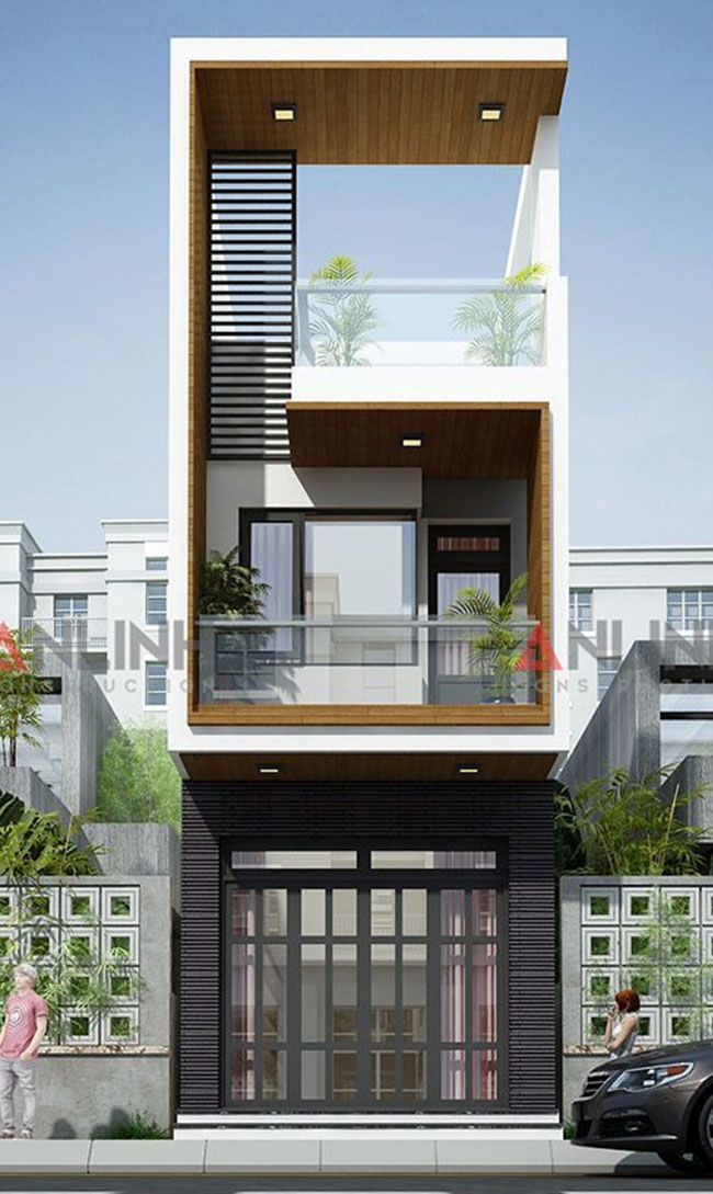 Small House Elevation Design Small House Design Exterior Narrow: 65 Small And Narrow Block Two-Storey House Designs To Suit Different Tastes And Needs