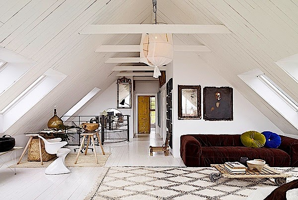 Attractive Interior Design House With Scandinavian Style