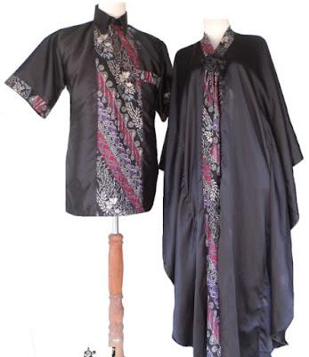Model Dress Batik Orang Gemuk
