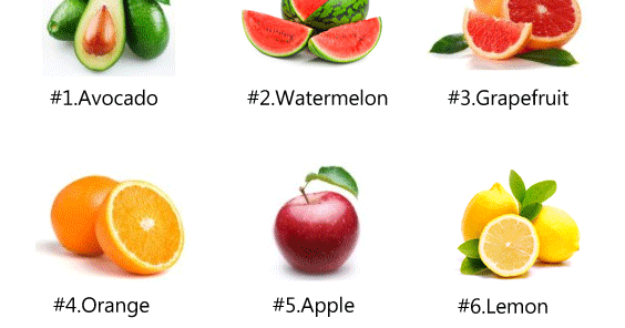 top 10 weight loss fruits list