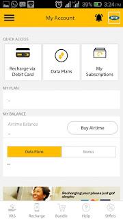 MyMTN App data plans