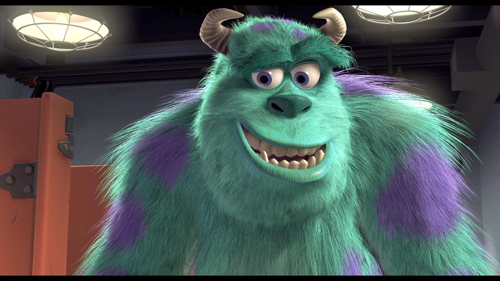 My Designs , My Story: Animation : Film Review (Monster Inc)