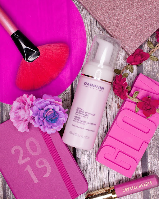 Pink obsession flat lay picture