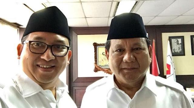 Prabowo ngaku sulit kendalikan Fadli Zon untuk tak buat kontroversi