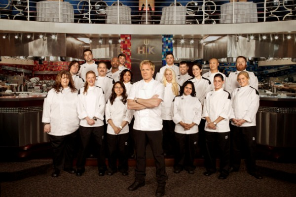 Hell S Kitchen Season  Cast
