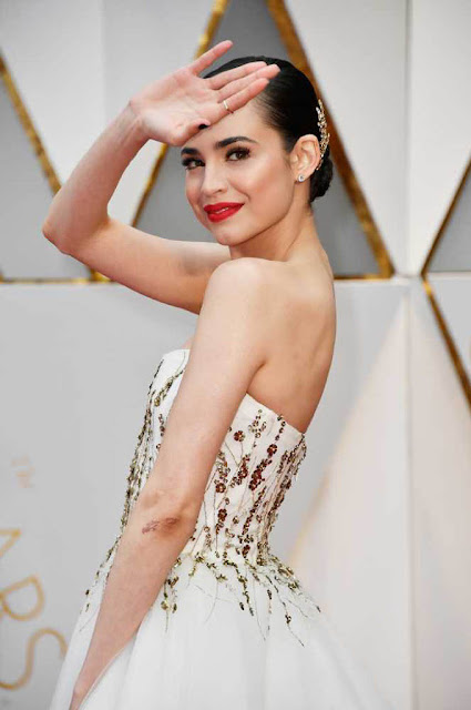 Sofia Carson at 89th Annual Academy Awards