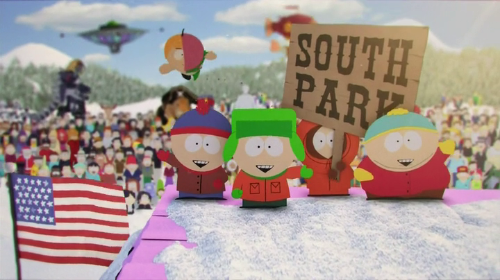la tua serie preferita south park