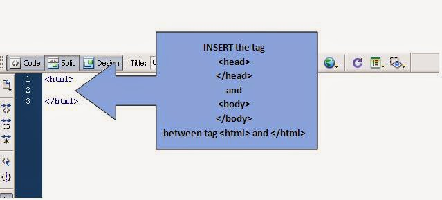 insert html tag and element