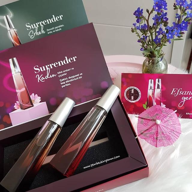 avon surrender parfüm