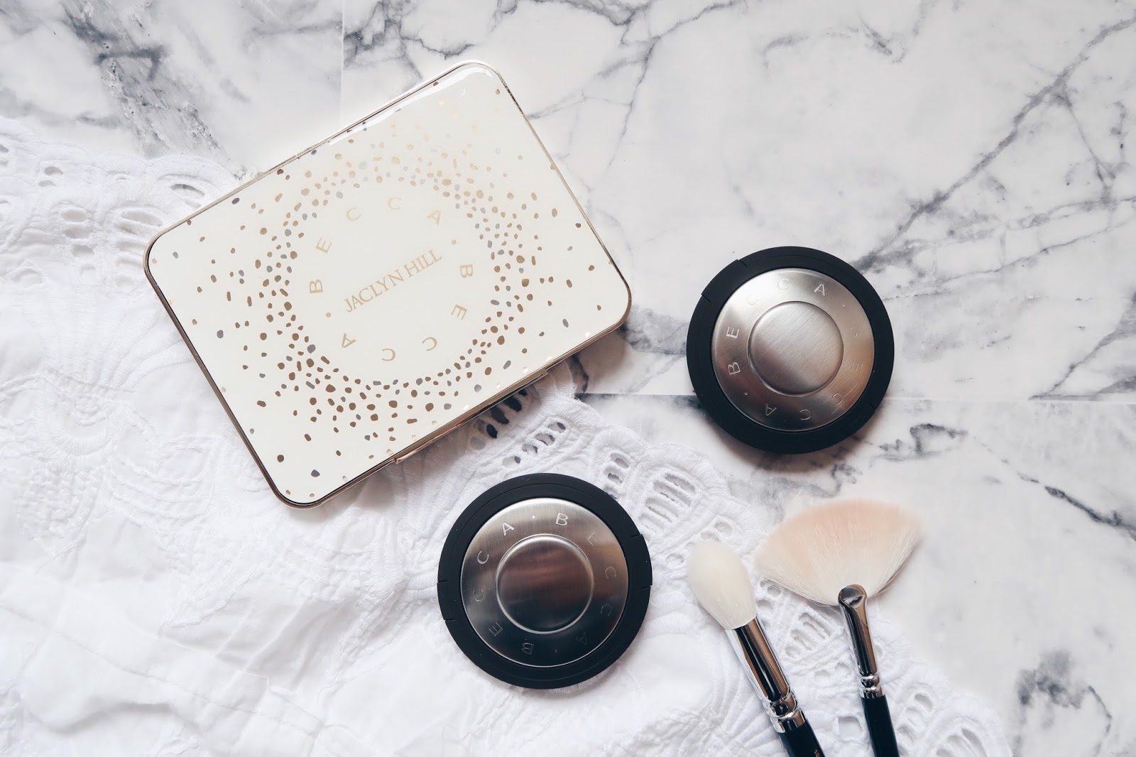 Mes highlighters Becca