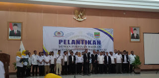 DPD LPM Kabupaten Bekasi Masa Bakti 2018-2023 Dilantik