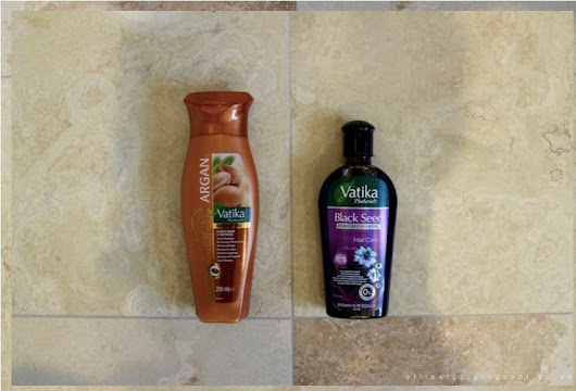 BEAUTY | Vatika Argan Shampoo and Black Seed Hair Oil*