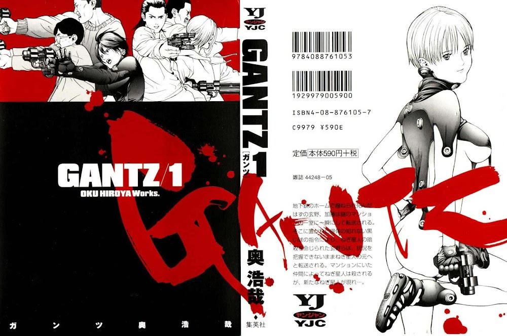 Gantz Chap 01: Tai nạn trang 1