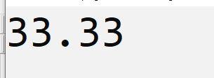 contoh program  dev c++ menampilkan 2 angka dibelang koma
