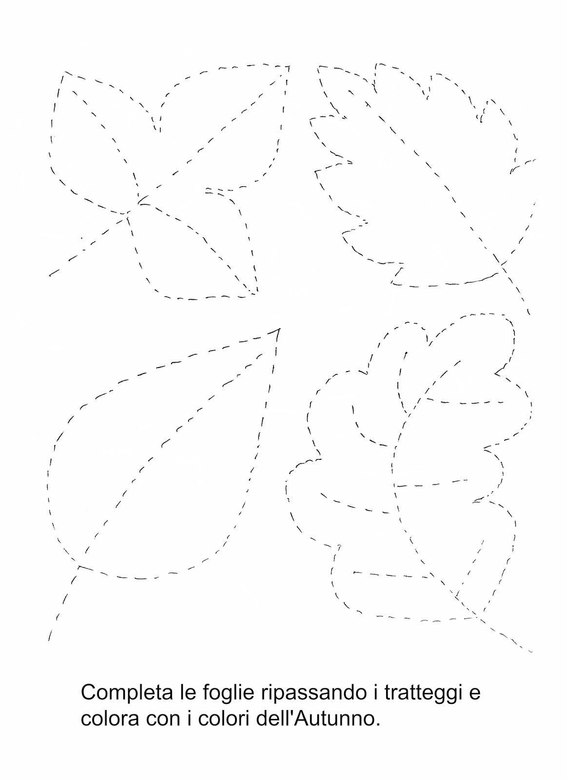 La maestra Linda : Le foglie in Autunno