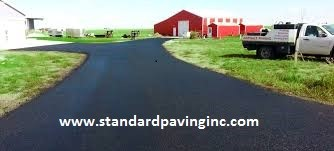 Procedure and Work Process for Making Parking Lots on Asphalt Pavement