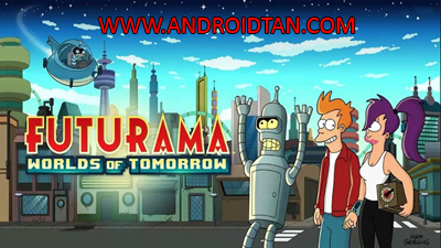 Futurama Worlds of Tomorrow Mod Apk v1.3.3 Unlimited Money Terbaru