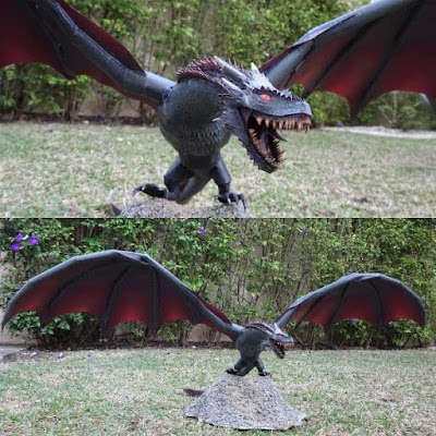 Game of Thrones Papercraft: Drogon