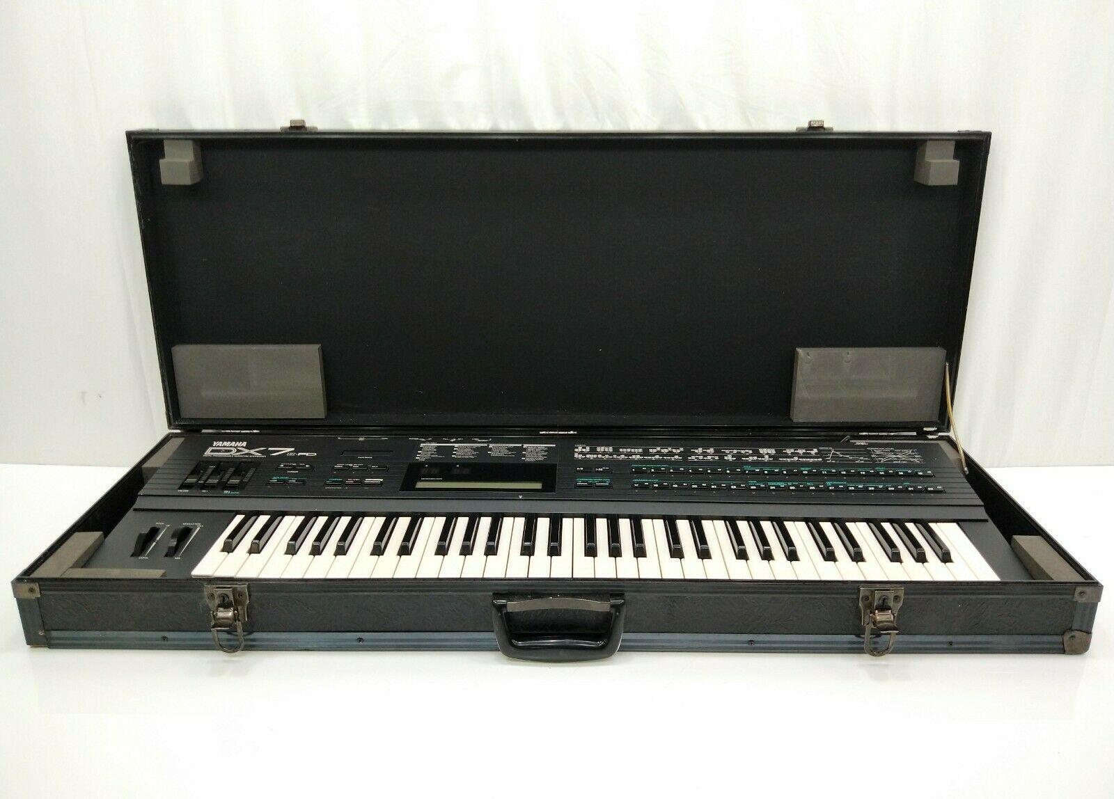 MATRIXSYNTH: Yamaha DX7 II FD SN 12198 w/ Case