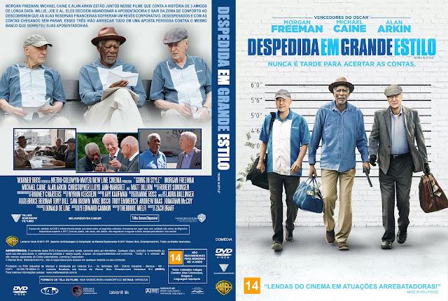 Capa DVD Despedida em Grande Estilo [Custom]