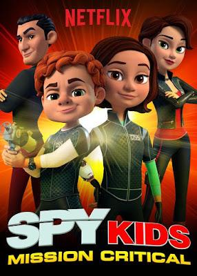Netflix Spy Kids - Animasi terbaru Netflix