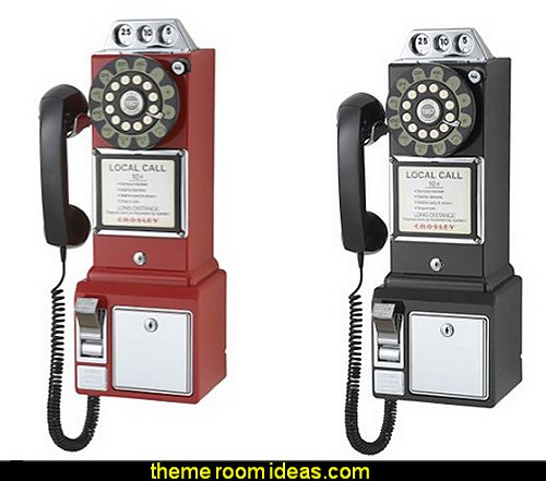 1950's Payphone with Push Button Technology