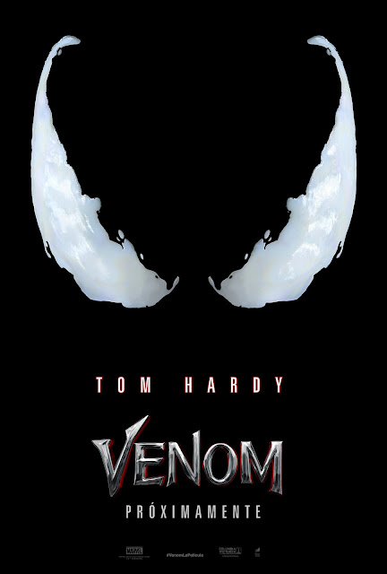 "Teaser poster de ""VENOM"" - Marvel Comics"