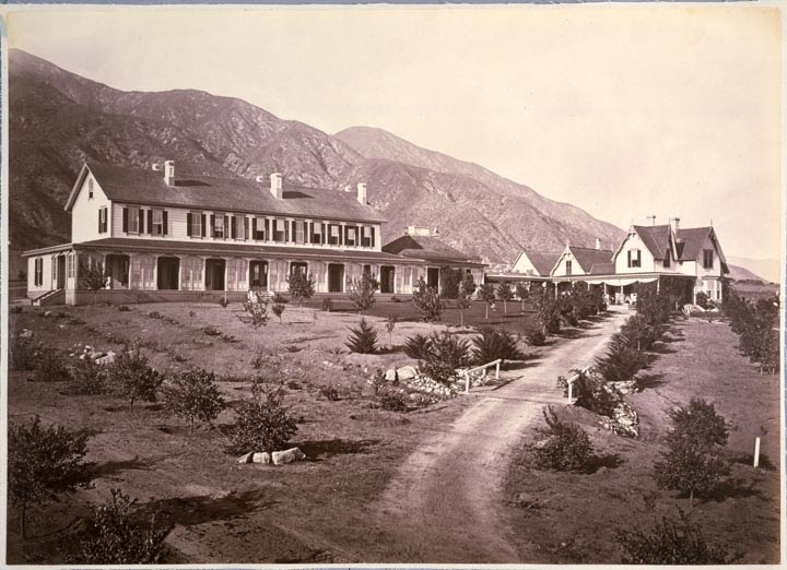 East Of Allen  Christmas 1878 At The Sierra Madre Villa Hotel