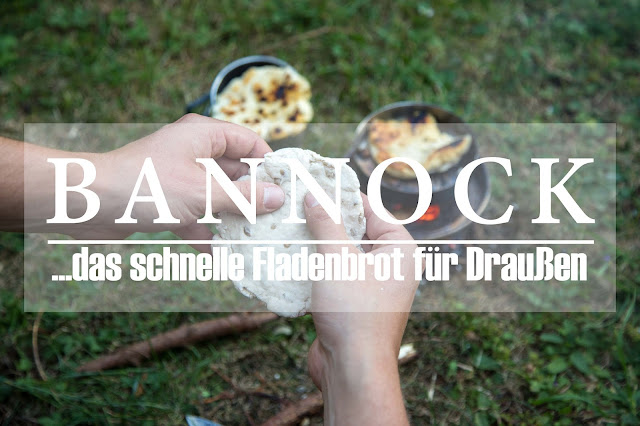 bannock outdoor-kitchen fladenbrot unterwegs