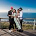Couple goals! Banky W and Adesua pose with Ebuka and wife in S.A