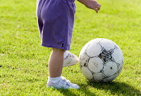 Foot Flat when Kicking a Ball