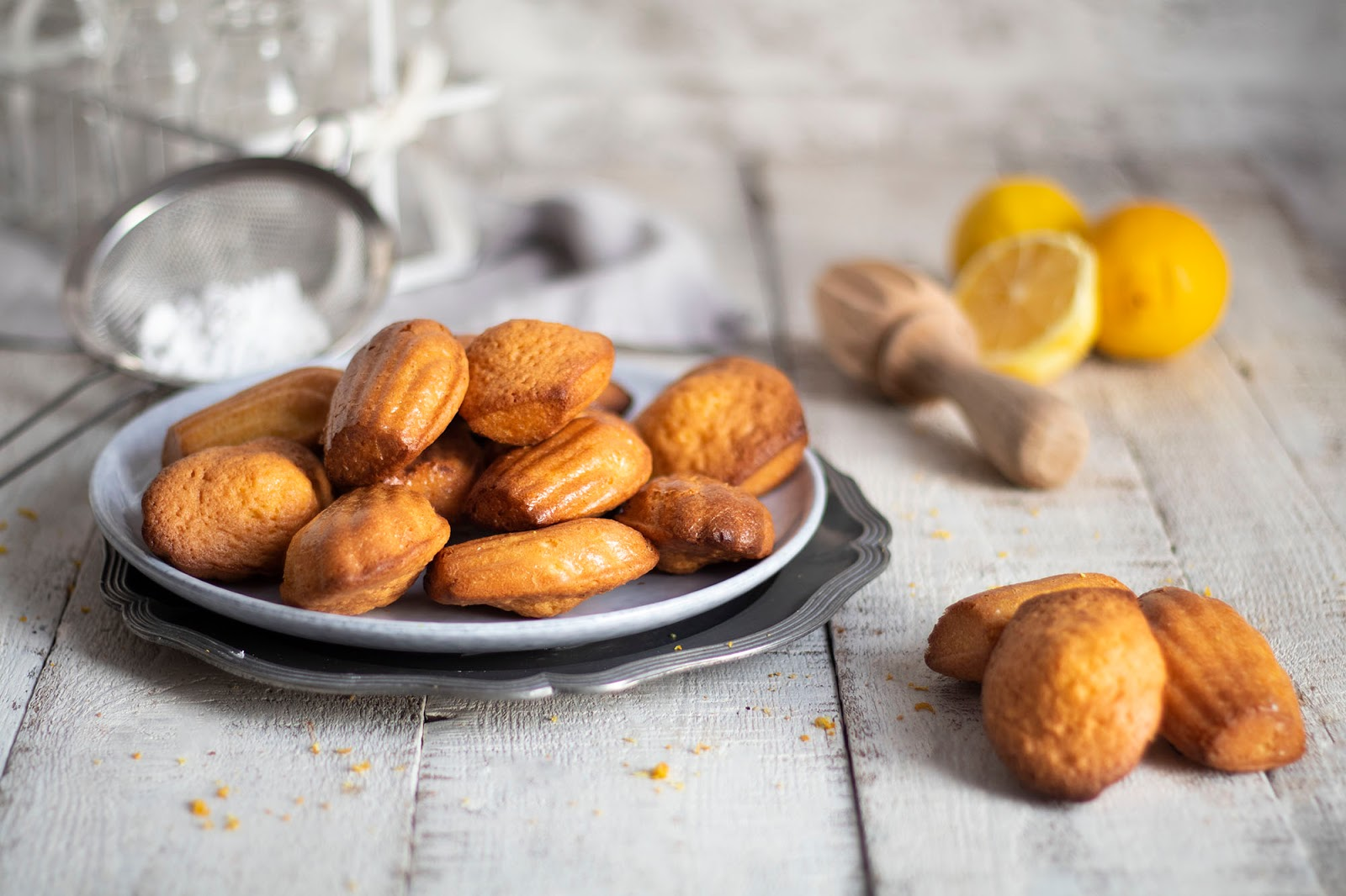 Recette de madeleines au citron
