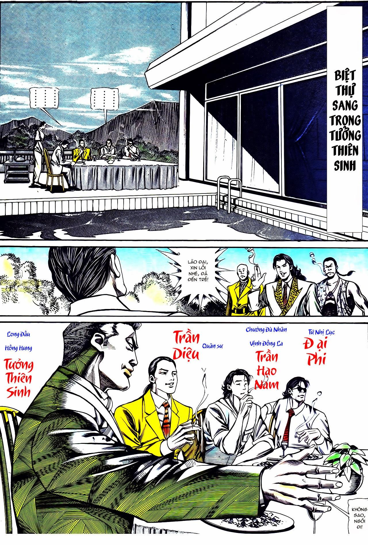 Người Trong Giang Hồ chapter 121: phong khởi vân dũng trang 13