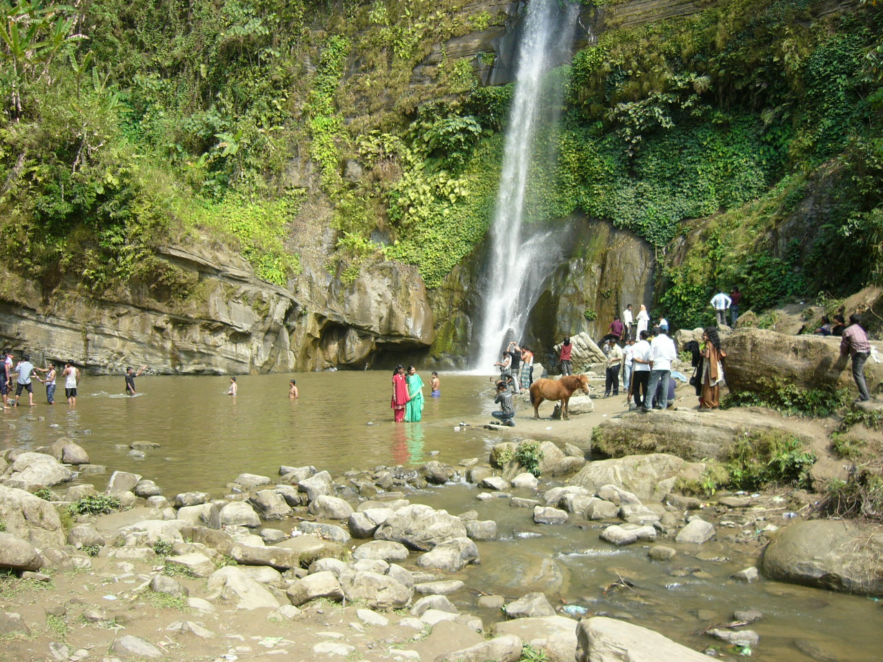 jaflong waterfall