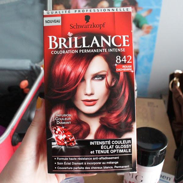 Coloration Schwarzkopf Brillance Rouge Cachemire : Mon avis